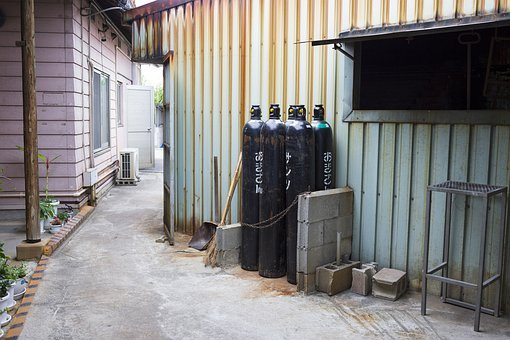 Gas, Gas Cylinders, Fuel