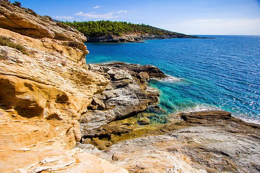 Island, Greece, Summer, Sea, Blue, Travel, Tourism