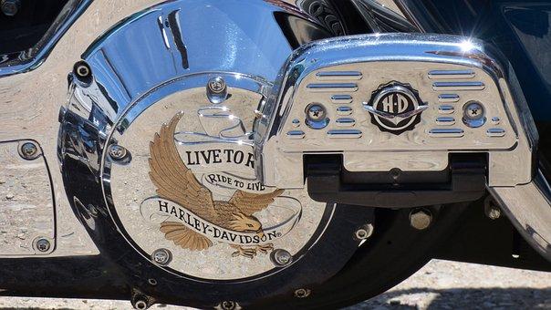 Engine, Motorbike, Harley-davidson