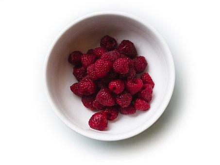 Raspberry, Berry, Food, Plate, Dessert, Vegetarian, Red