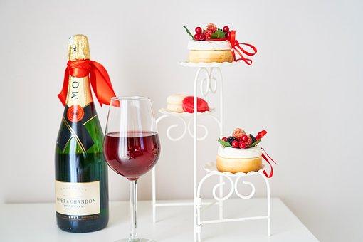Wine, A Toast, Red, Hotel, Celebration, Raisin
