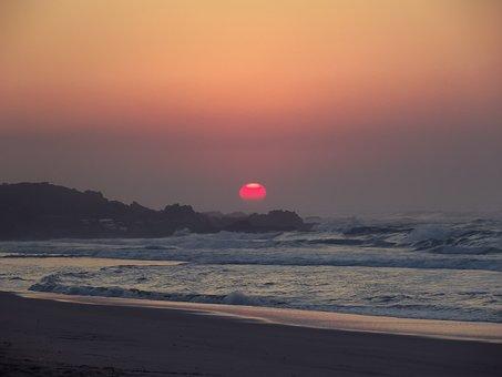 Sunrise, Lucien Beach, Margate, South Africa, Ocean