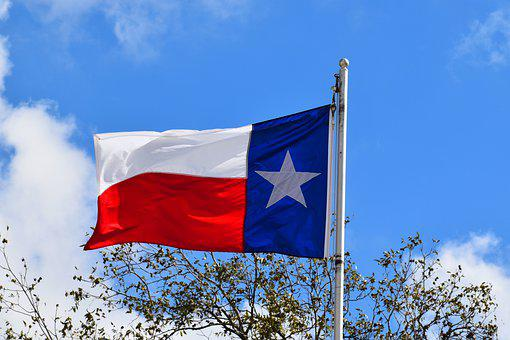 Texas State Flag, Texas, Flag, Usa, America, State