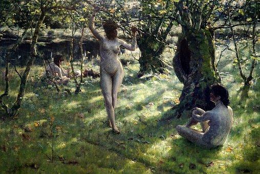 Nude, Masterpiece, Picture, Art, Thecr Etive