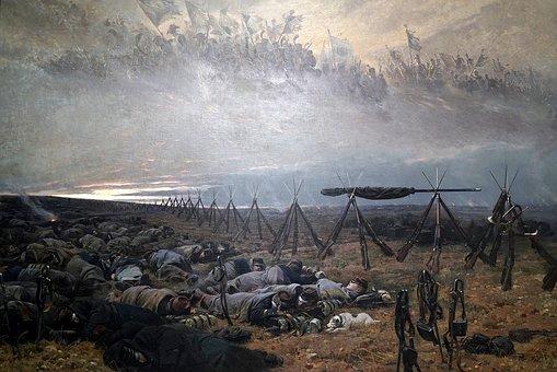 War, Masterpiece, Picture, Art, Thecr Etive
