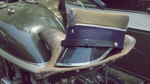 Cap, Eagle, Cavalry, Uniform, Soldier, The War