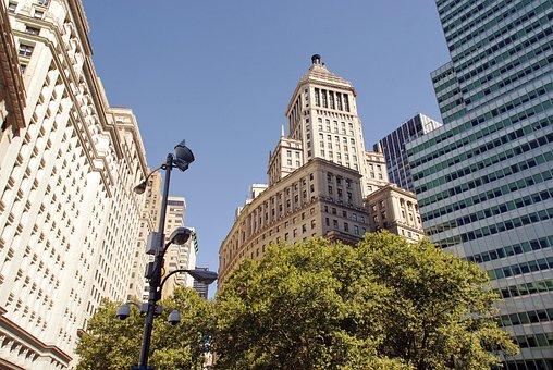 New York, Manhattan, Urban Furniture, Buildings