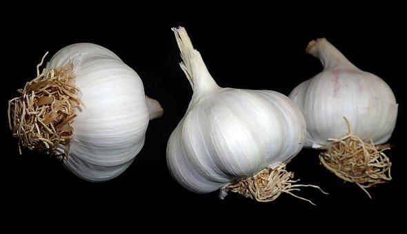 Garlic, Vegetables, Food, Cooking, Healthy, Eating