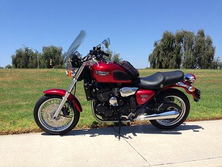 Motorbike, Vehicle, Triumph, Legend, Motorcycle, 2000