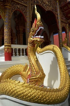 Snake, Dragon, Temple, Worm, Animal, Symbol, Chinese