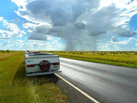Caravan, Journey, Avan, Australia, Road Trip, Holiday