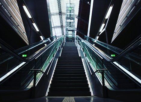 Leipzig, S-bahn, High-tech, Railway Station, City