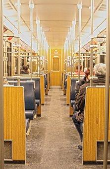 Metro, Munich, Dare, Wagon, Gang, Urban, Old, S Bahn