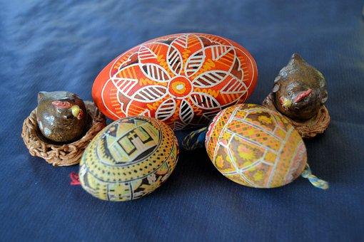 Easter, Deco, Easter Eggs, Hen's Egg, Goose Egg
