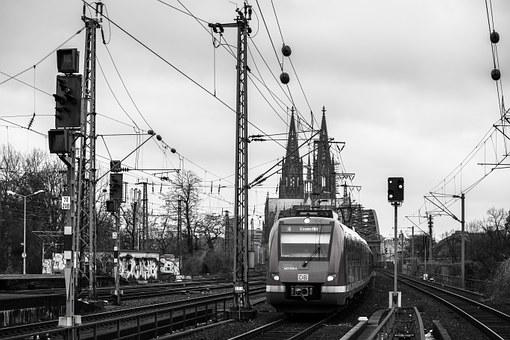 Dom, Train, Cologne Cathedral, Railway, S Bahn, Bridge