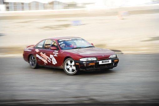 Nissan Silvia, Drift, Car, Race, Fast, Speed, Tuning