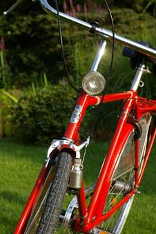 Bike, Wheels, Two Wheeled Vehicle, Dutch, Red