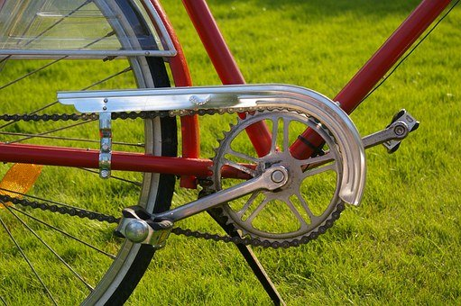 Bike, Wheels, Two Wheeled Vehicle, Dutch, Red