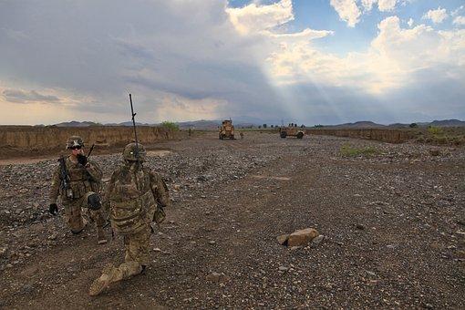 Patrol, Soldier, Uniform, Scout, Explore, Reconnoiter