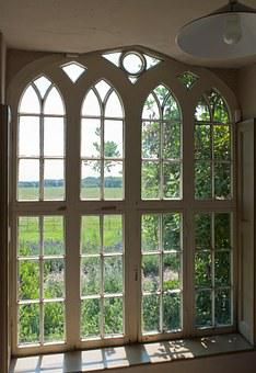 Window, Victorian, Window Pane, Home, Residential
