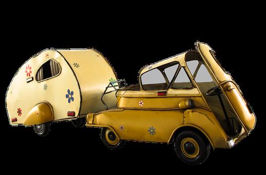 Nostalgia, Auto, Oldtimer, Caravan, Png, Isolated, Team
