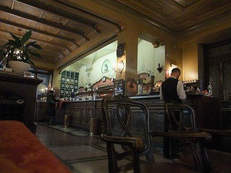 Caffè Torino, Turin, Italy, Indoors, Tradition