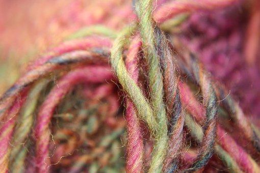 Wool, Threads, Yarn, Hand Labor, Knit, Thread, Woollen