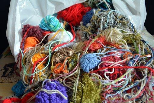 Wool Tangled, Winter, Knitting