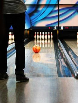 Bowling, Bowling Alley, Leisure, Recreation, Activity