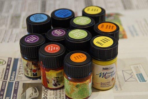 Color, Marbling Color, Bottle, Mottle, Colorful, Tinker