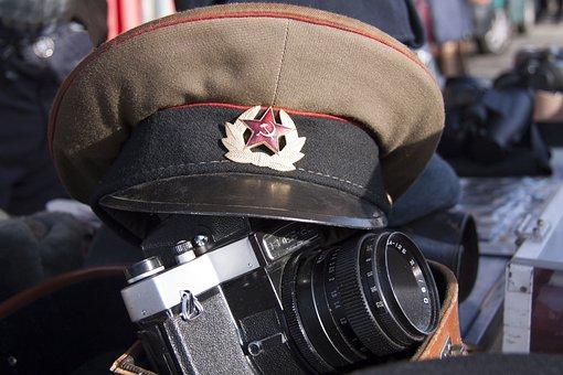 Flea Market, Militaria, Military Cap, Red Army