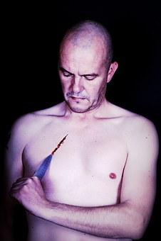 Man, Model, Male, Portrait, Photographer, Knife