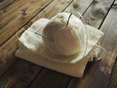 Knitting, Needles, Tangle, Thread, Needlework, Yarn