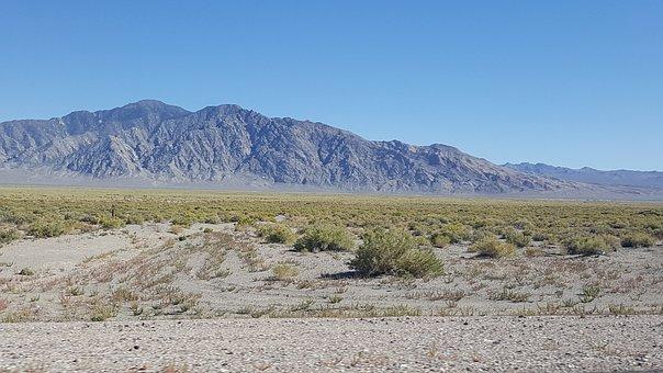 Nevada, Mountains, Sierra, Nature, Usa, California