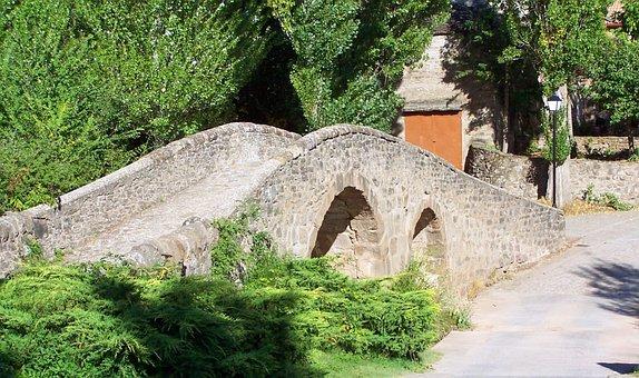 Old Bridge, Bridge, Stone Arch, Architecture, Ark