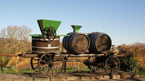 Wine Press, Wingert, Vineyards, Palatinate