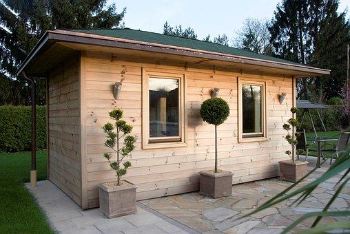 Outdoor Sauna, Wood Sauna, Sauna, Heat, Sweating
