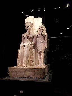 Egyptian Museum, Sculpture, Antiquity, Torino