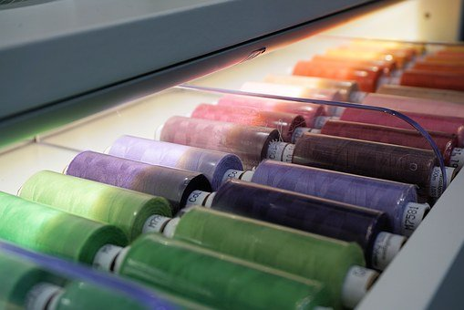 Thread, Fadenrolle, Colorful, Roll, Sewing Thread