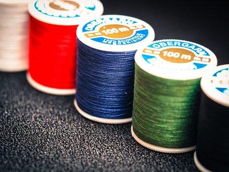 Yarn, Spools Of Thread, Sew, Thread, Sewing Thread