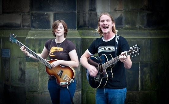 Street Performers, Edinburgh Fringe, Singers