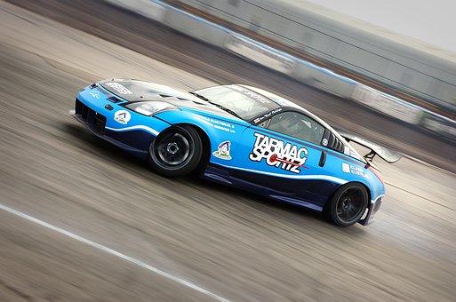 Nissan Z, Drift, Car, Race, Fast, Speed, Tuning