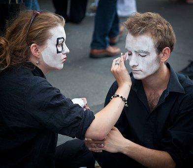 Street Performers, Edinburgh Fringe, Actors, Performers
