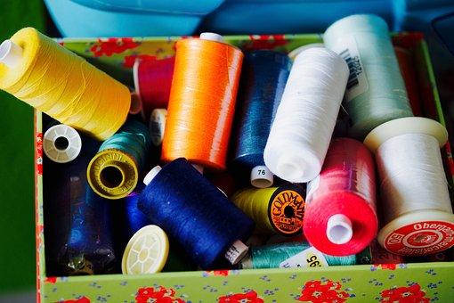 Sewing Thread, Sew, Hobby, Thread, Yarn, Haberdashery