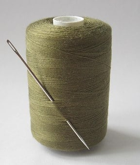 Needle, Cotton, Thread, Sewing, Textile, Sew