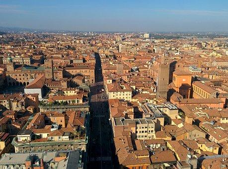 Bologna, Torre Degli Asinelli, Asinelli
