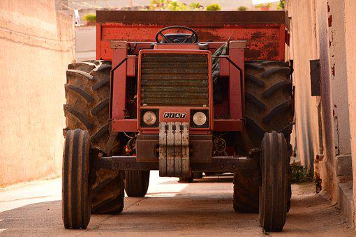 Tractor, Old, Old Tractor, Agriculture