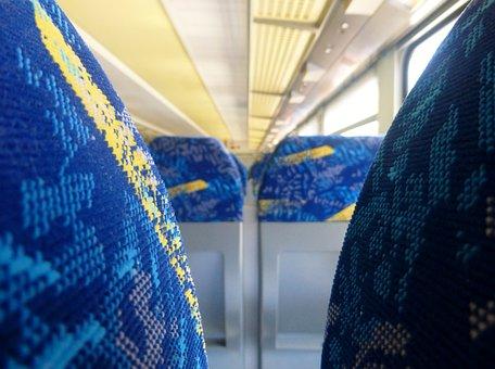 Travel, Holiday, Train, Interior, Railway, S Bahn