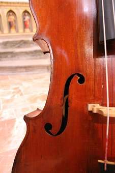 Cello, Wood, Music, Brown