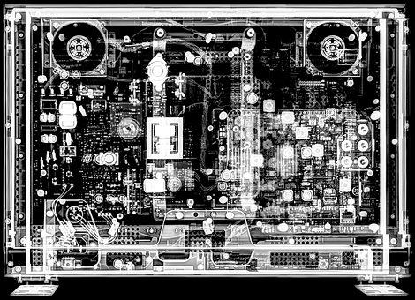X-ray, Xray, Technology, Digital Cinema, Monitor